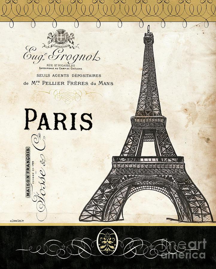 Paris Ooh La La 1 by Debbie DeWitt