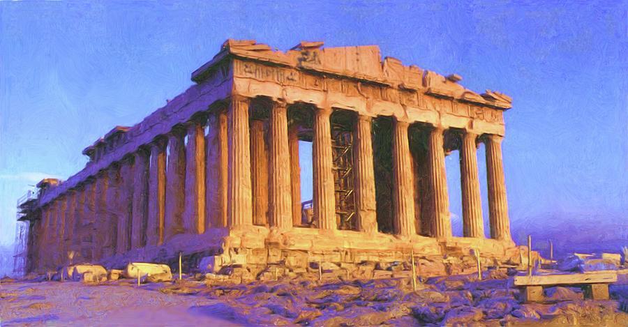 Parthenon by Troy Caperton