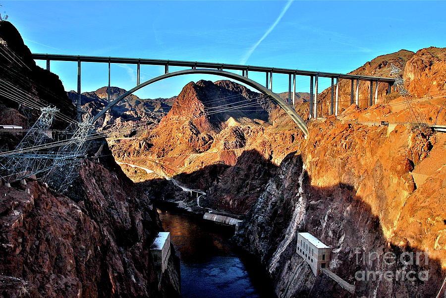 Bridges Photograph - Pat Tillman Memorial Bridge by Matthew Heller