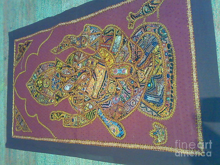 Patchwork Wall Hanging Tapestry - Textile - Patchwork Wall Piece by Dinesh Rathi