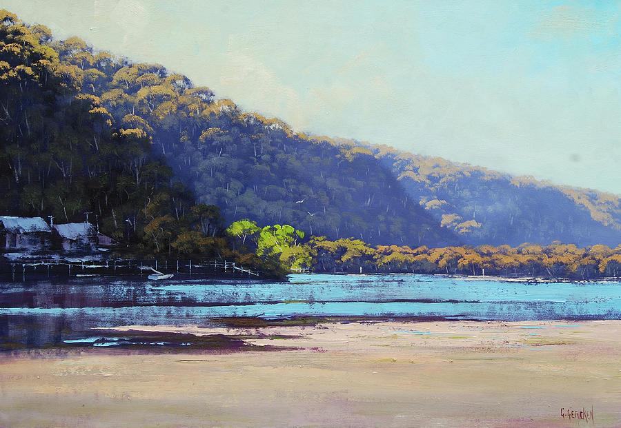 Nature Painting - Patonga Creek by Graham Gercken