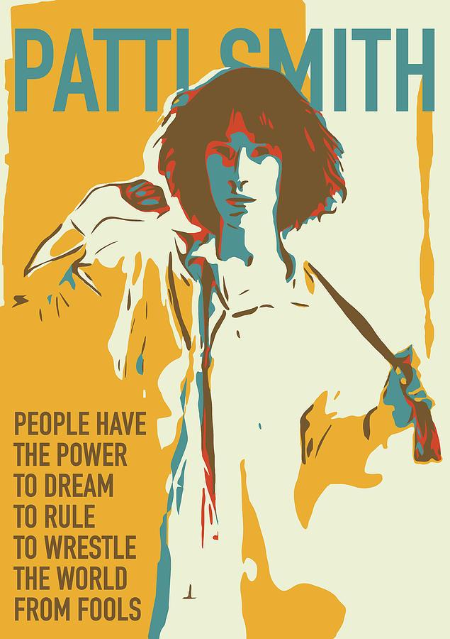 Patti Smith Digital Art