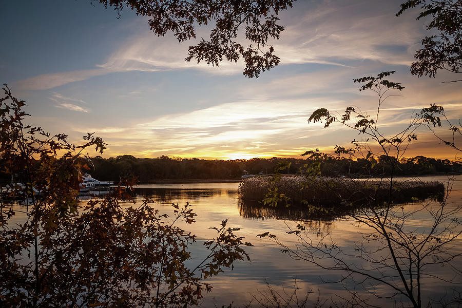 Pawcatuck Photograph - Pawcatuck River Sunrise by Kirkodd Photography Of New England