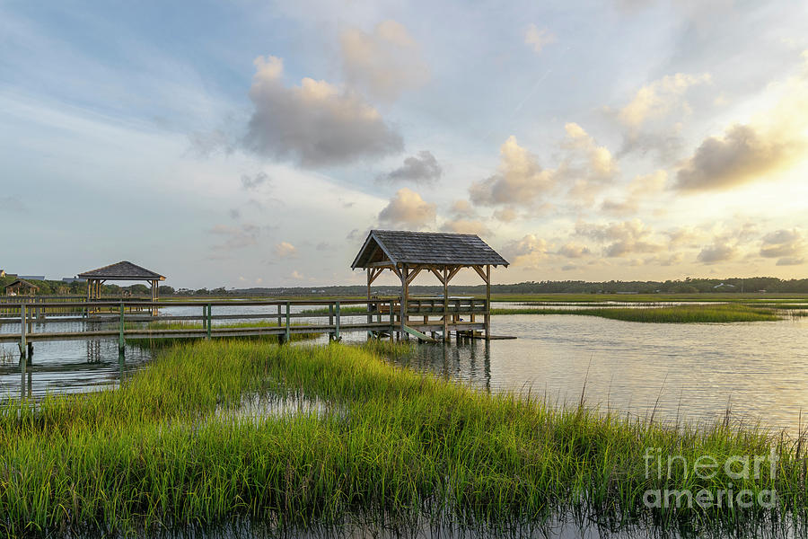 Pawleys Island Sc Photograph - Peaceful Evening by Matthew Trudeau