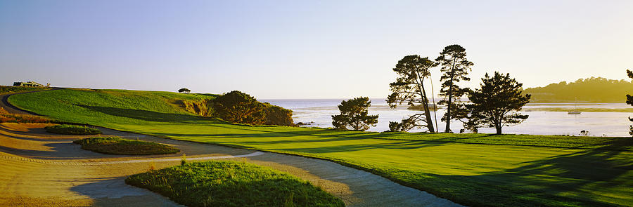 Color Image Photograph - Pebble Beach Golf Course, Pebble Beach by Panoramic Images