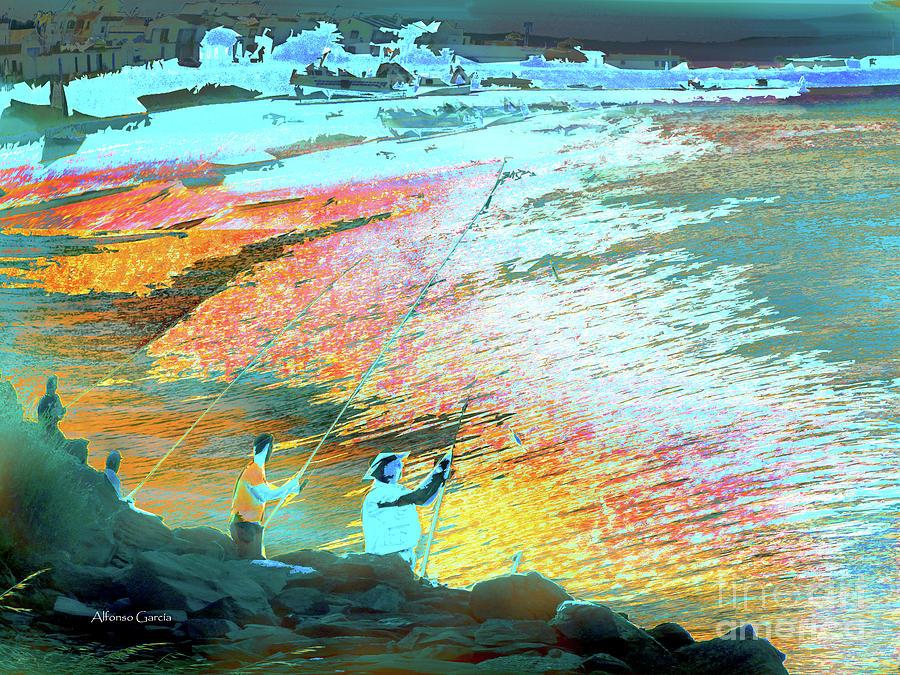 Interior Photograph - Pesca En Moral by Alfonso Garcia