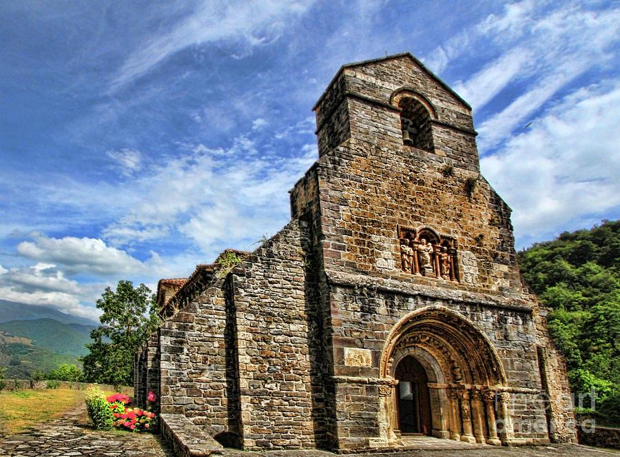 Historia Photograph - Piasca Iglesia De Santa Maria _img 8461a by Diana Raquel Sainz