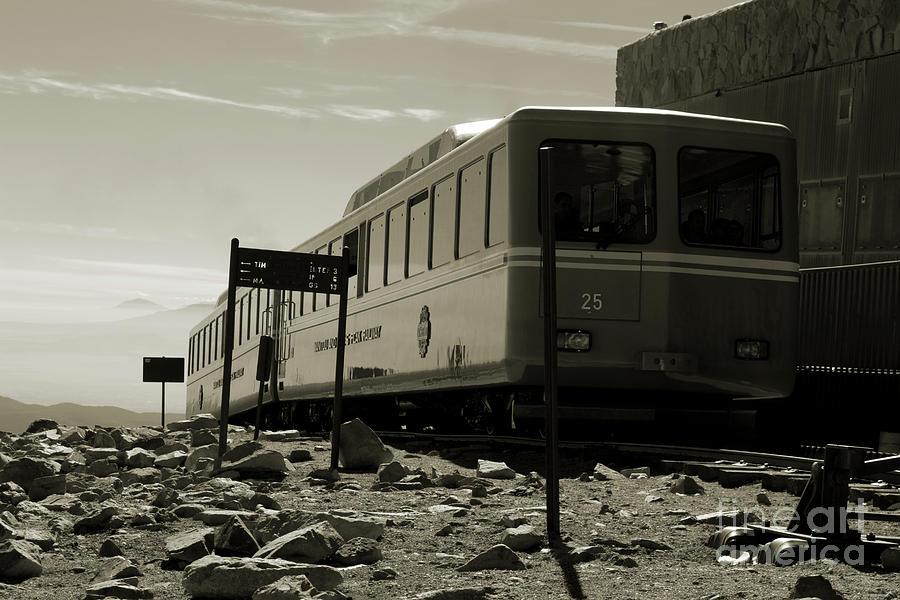 Pikes Peak Cog Railway Photograph