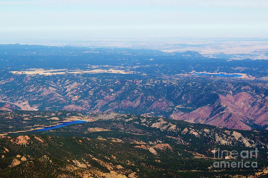 Pikes Peak Highway Photograph
