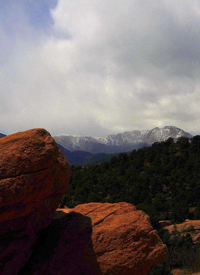 Pikes Peak Photograph - Pikes Peak by Patrick  Short