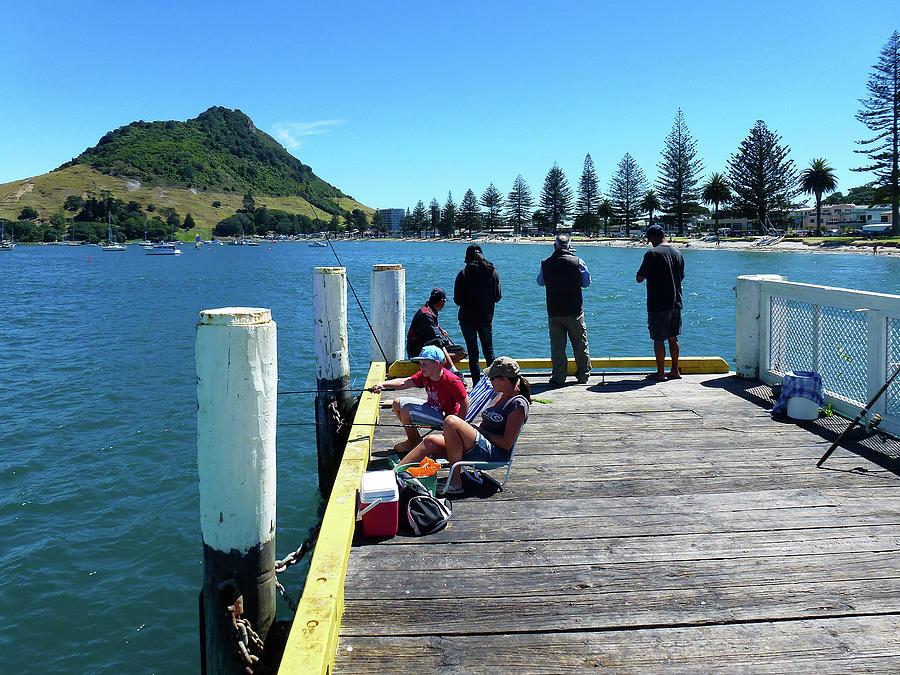 Pilot Bay Beach 7 - Mt Maunganui Tauranga New Zealand by Selena Boron