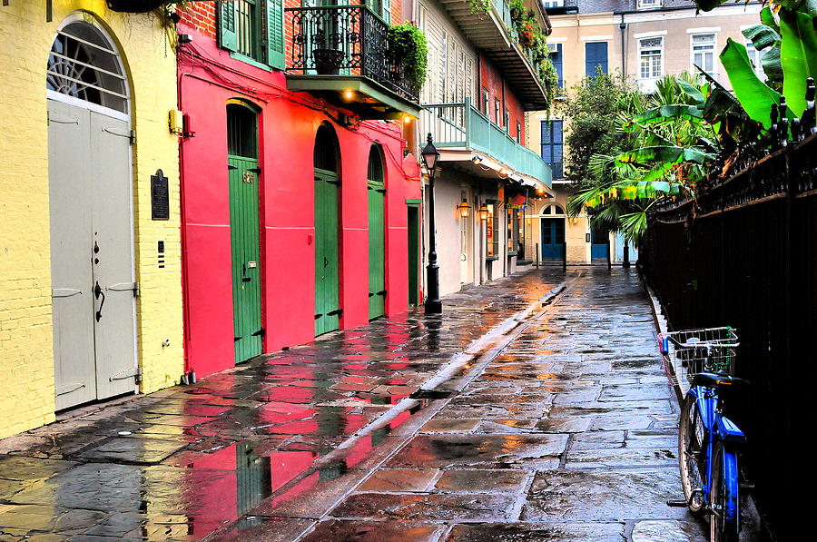 New Orleans Photograph - Pirates Alley New Orleans by Ellis C Baldwin