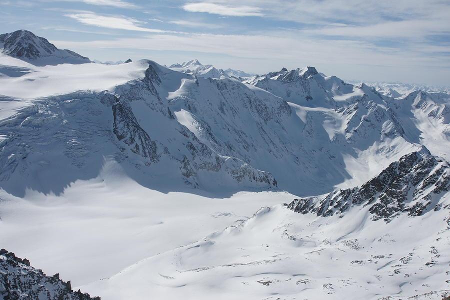 Pitztal Glacier Photograph - Pitztal Glacier by Olaf Christian
