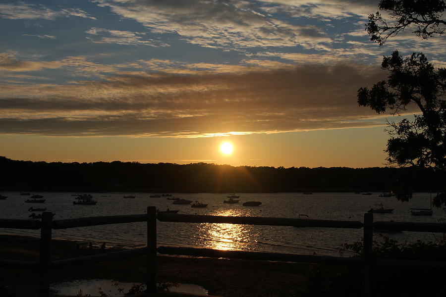 Sunset Photograph - Pleasant Bay Sunset by Amy Coomber Eberhardt