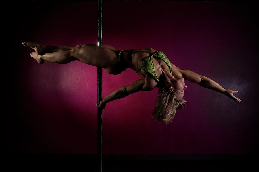 Strength Photograph - Pole Position 1 by Monte Arnold