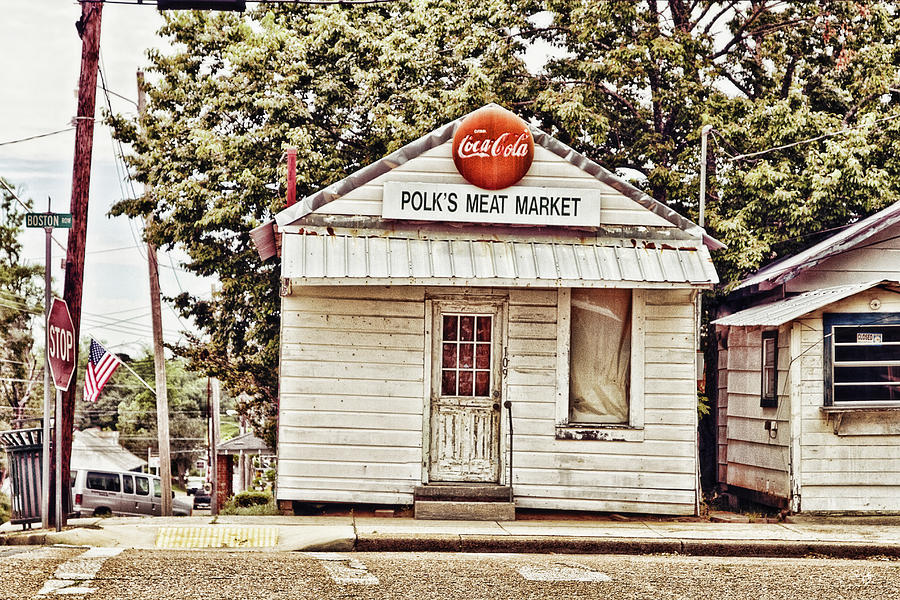 Polk's Meat Market Photograph - Polks Meat Market by Scott Pellegrin