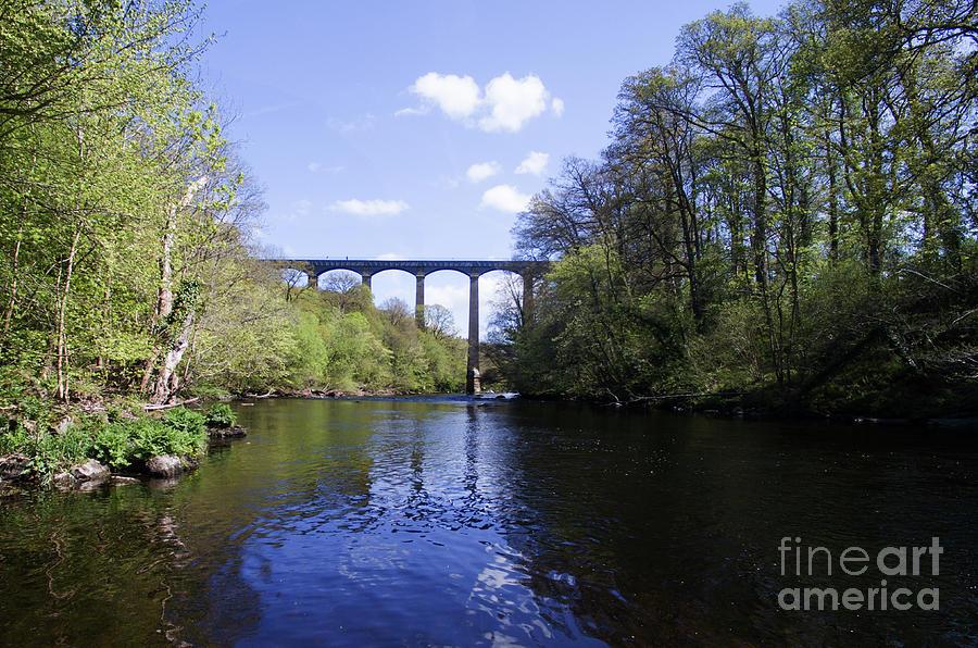 Pontcysyllte Aqueduct Photograph - Pontcysyllte Aqueduct by Steev Stamford