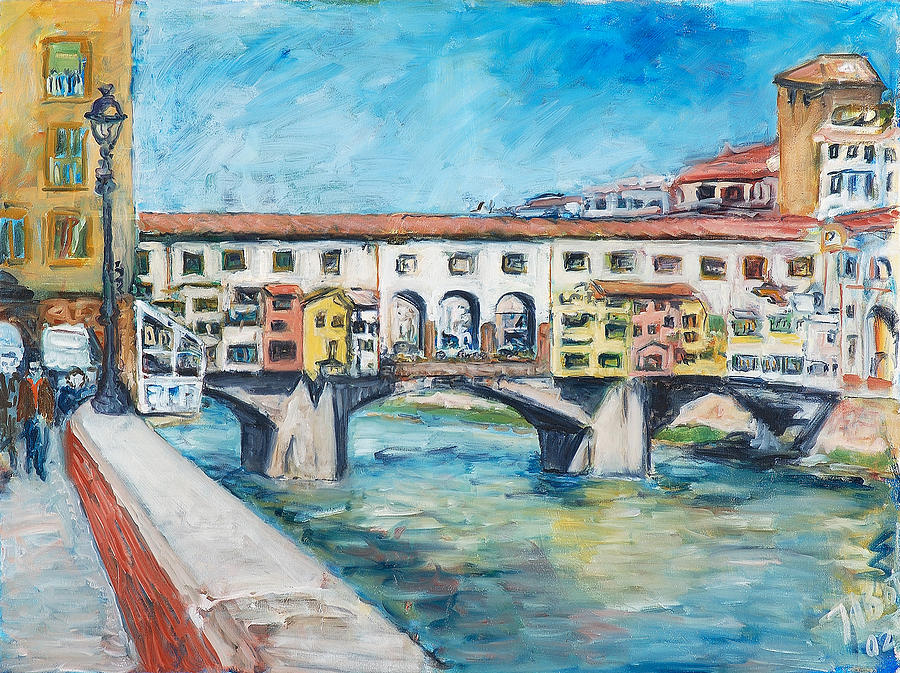 Pontevecchio Painting by Joan De Bot