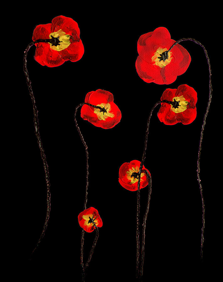 Poppies by Adriana Zoon
