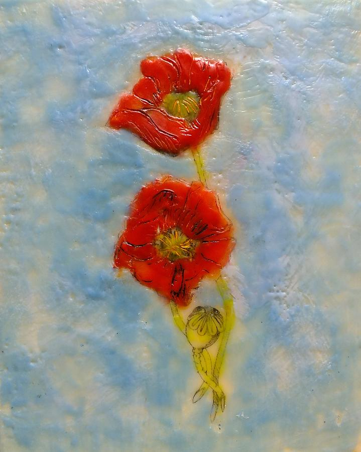 Poppies by Peggy King
