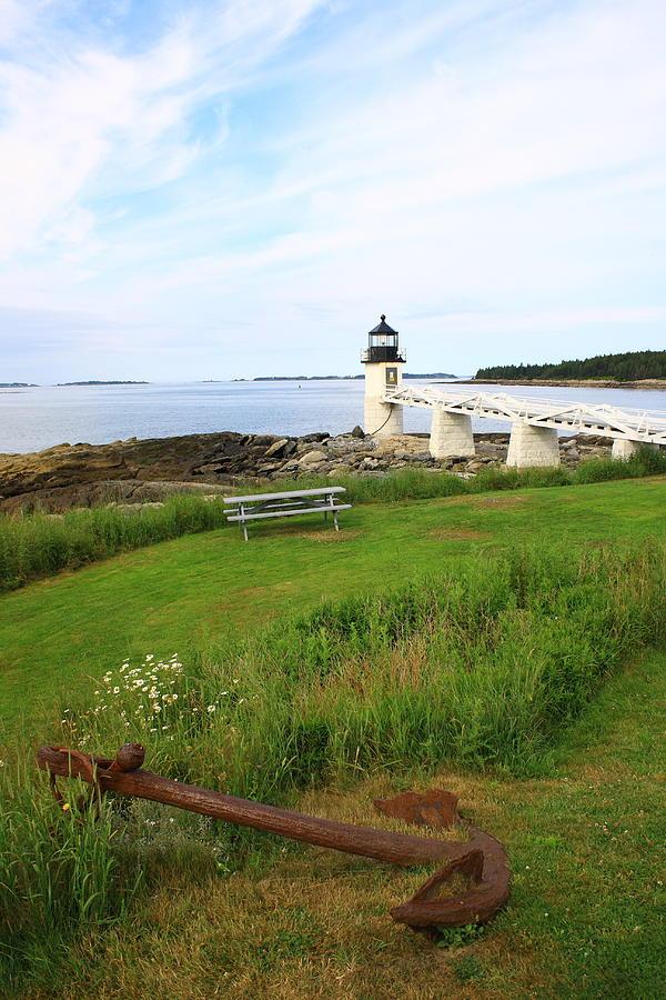 Seascape Photograph - Port Clyde by Doug Mills