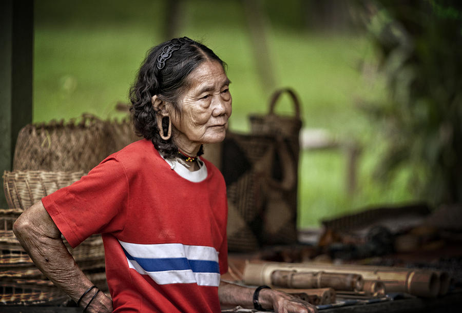 Borneo Photograph - portrait Borneo Malaysia by Jamie Cain