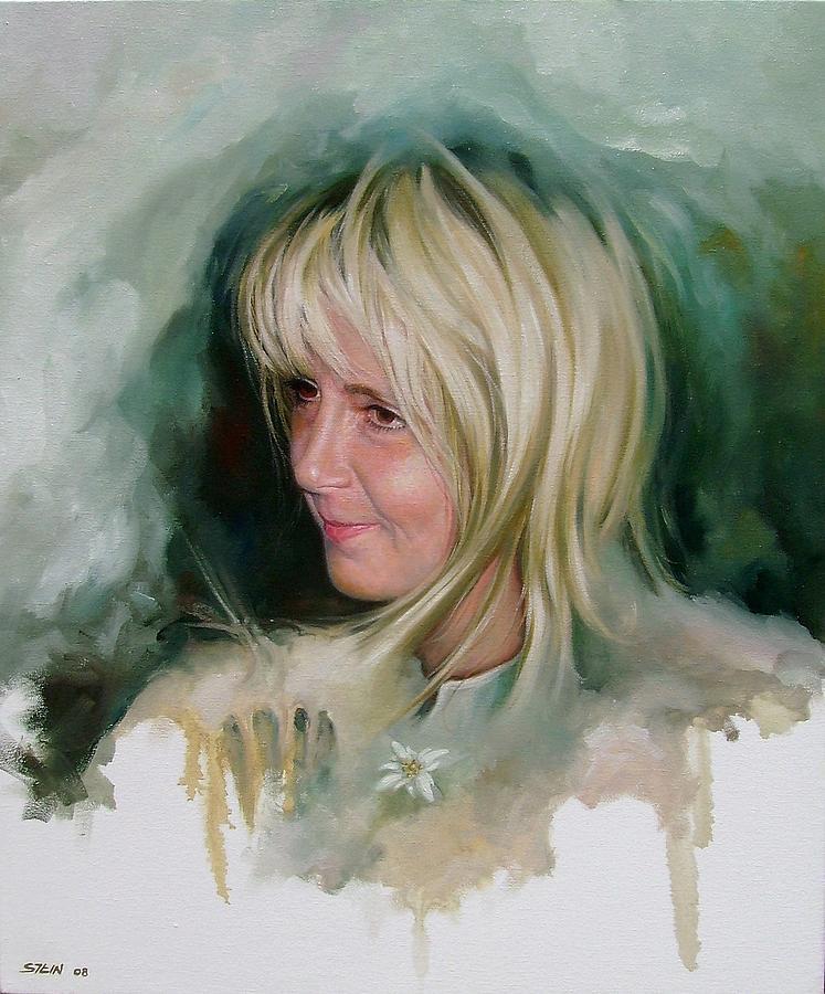 Portrait Painting - Portrait by Eduardo Stein