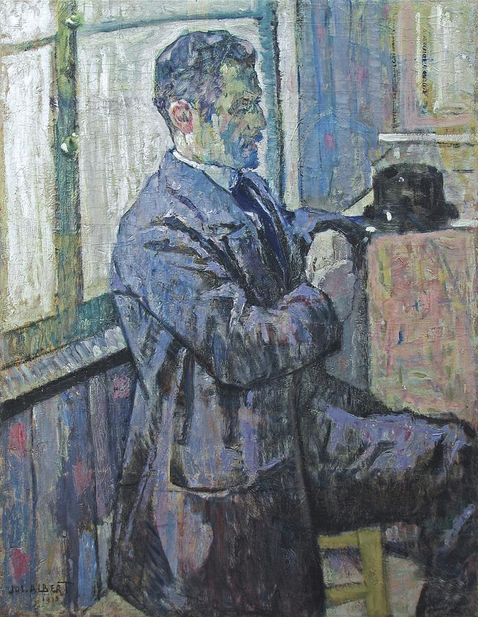 Man Painting - Portrait Of My Father 1 by Albert
