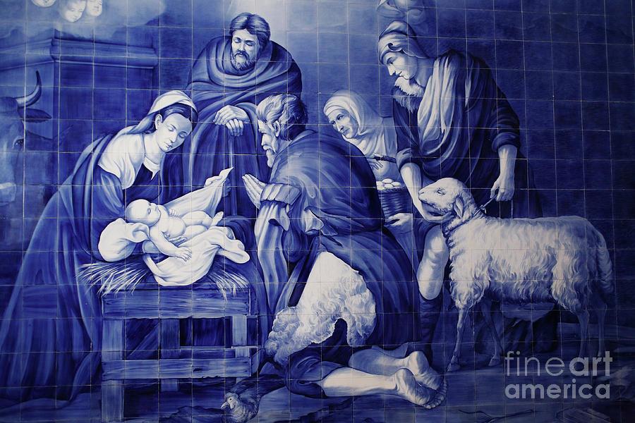 Catholicism Photograph - Portuguese Azulejo Tiles by Gaspar Avila