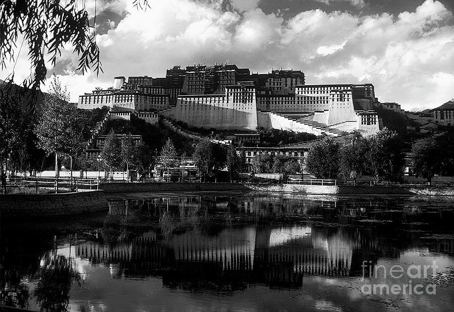 Potala Palace Reflection by Craig Lovell