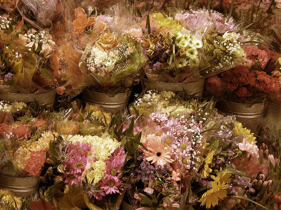 Flowers Photograph - Potpourri by Jessica Jenney