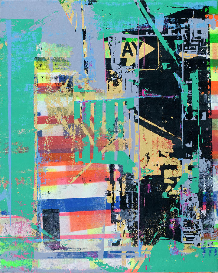 Abstract Mixed Media - Power Of Suggestion by Shay Culligan
