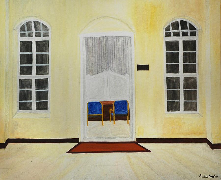 Chambar Painting - Power by Rakesh Kallur