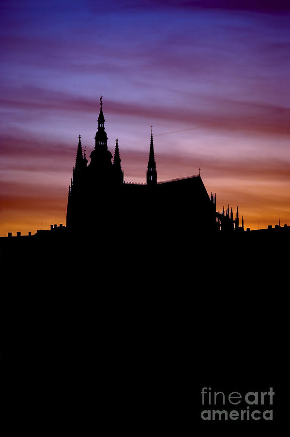Hradcany Photograph - Prague Castle by Michal Boubin