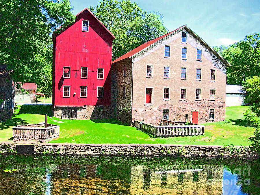 Photograph Photograph - Prallsville Mill by Addie Hocynec