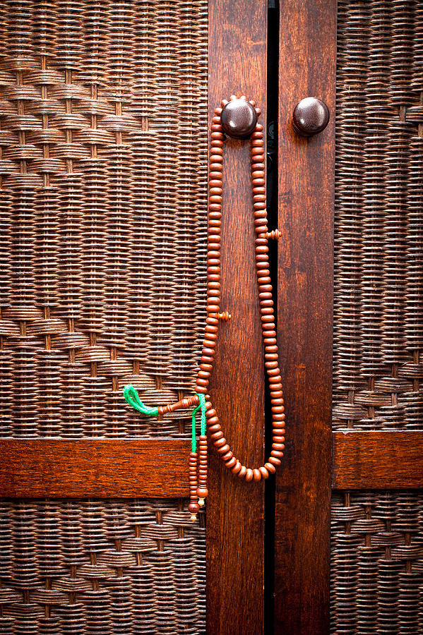 Beads Photograph - Prayer Beads by Tom Gowanlock