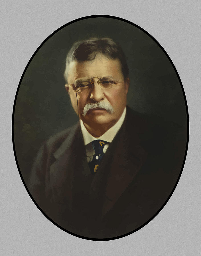 President Theodore Roosevelt Painting
