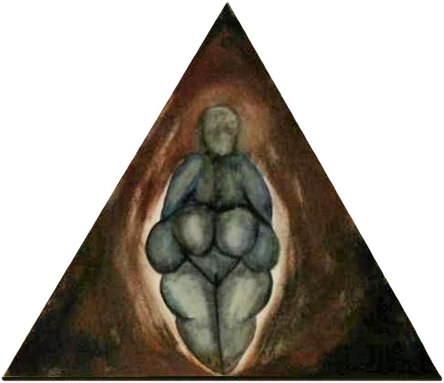 Primal Women Tribute Quadryptic by Kristen R Kennedy
