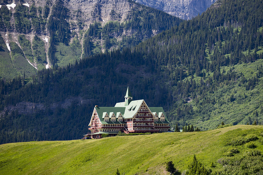 Alberta Photograph - Prince of Wales Hotel by Brandon Smith
