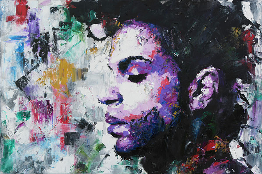 Prince Painting By Richard Day