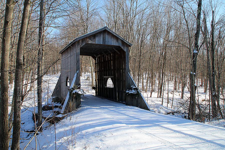 Private Covered Bridge by Wayne Toutaint
