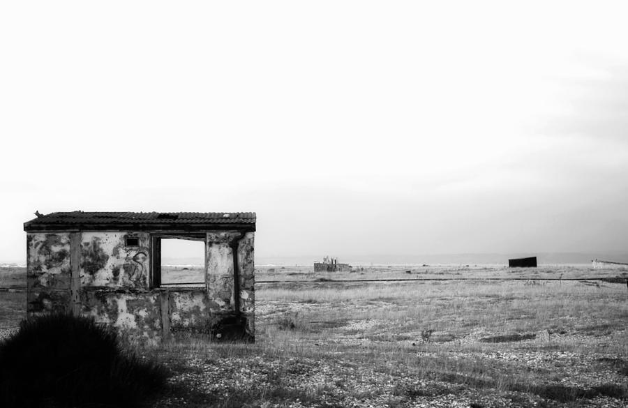 Landscape Photograph - Projekt Desolate Loveshack  by Stuart Ellesmere