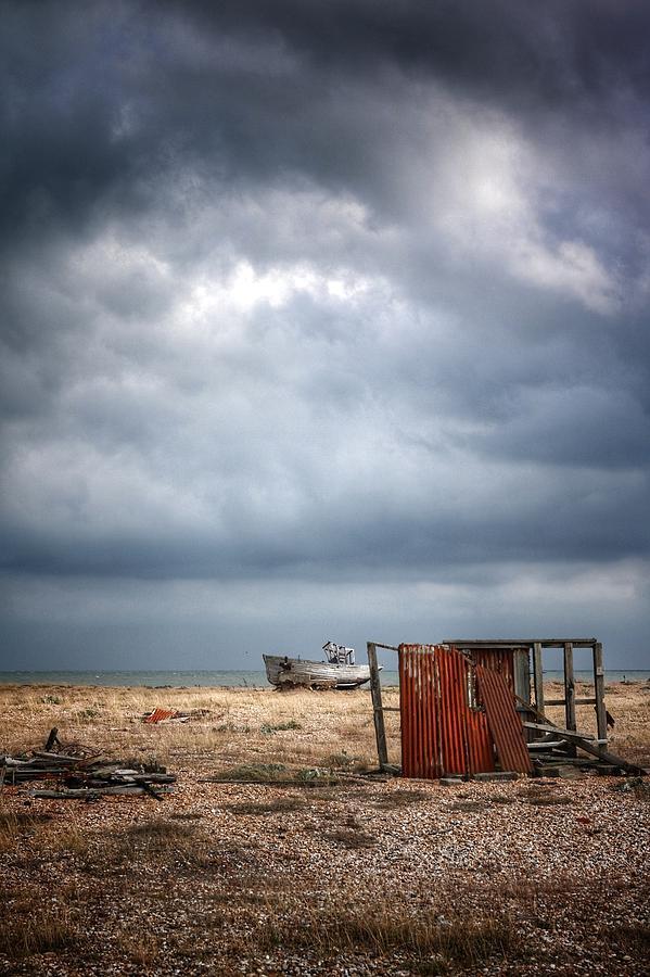 Landscape Photograph - Projekt Desolate The Clouds Decend  1 by Stuart Ellesmere
