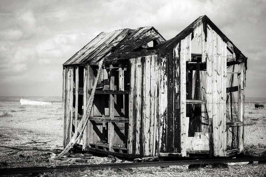Landscape Photograph - Projekt Desolate The Inn 1 by Stuart Ellesmere