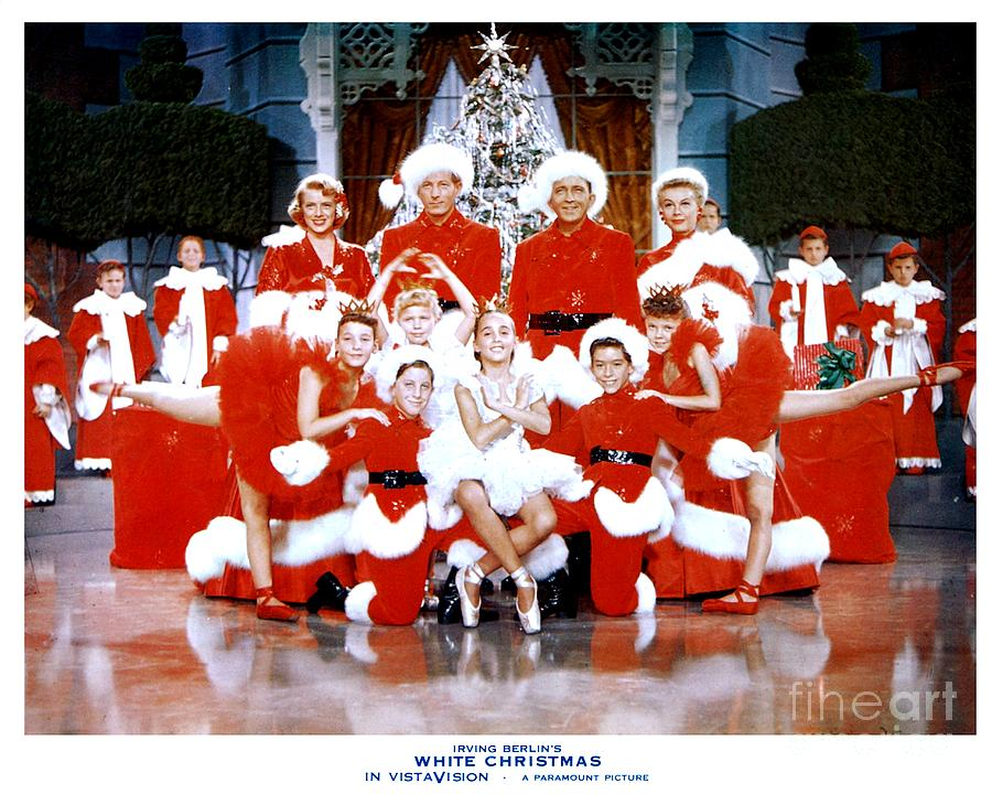 white christmas photograph publicity photo from the movie white christmas by the titanic project - The Movie White Christmas