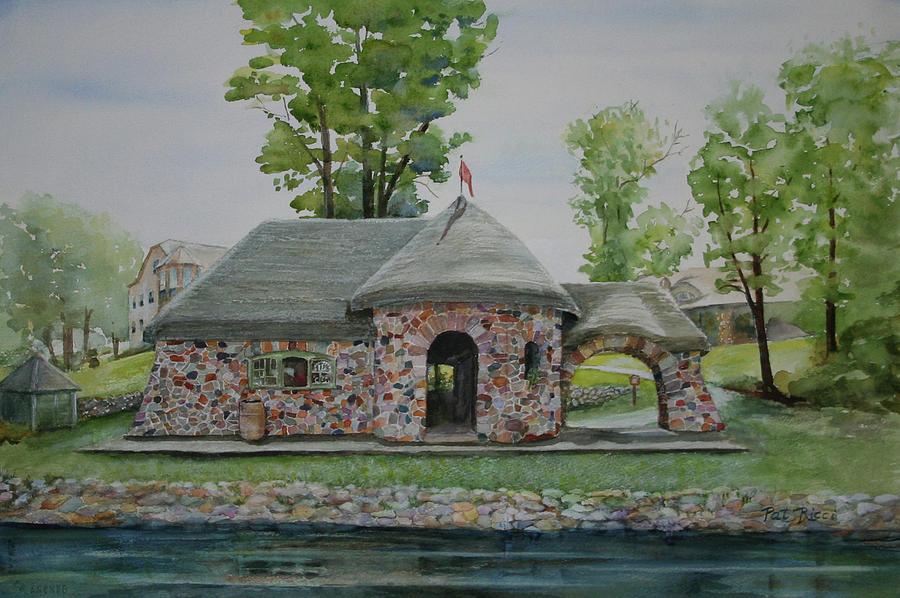 Pump House at Tagalong by Patricia Ricci