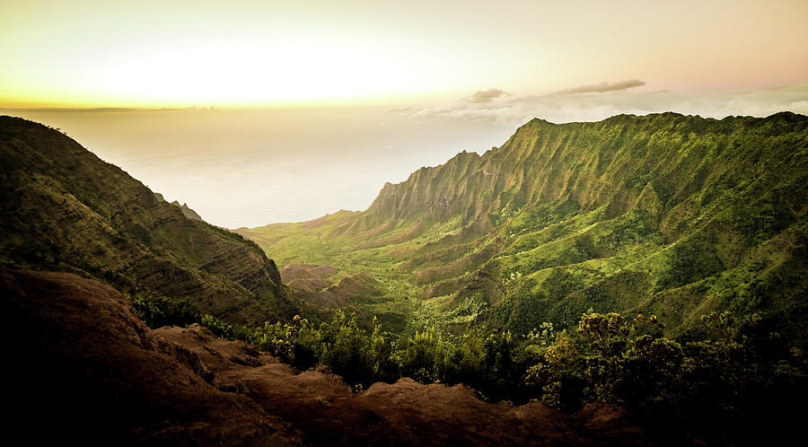 Puu O Kila Lookout, Kauai, HI by T Brian Jones