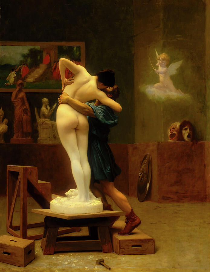 Painting Painting - Pygmalion And Galatea by Mountain Dreams