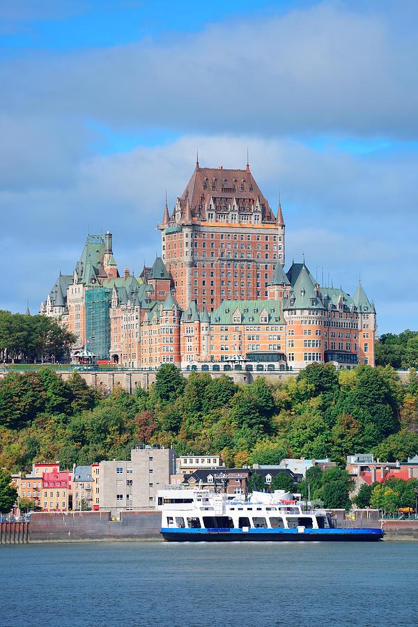 Quebec City Skyline Photograph