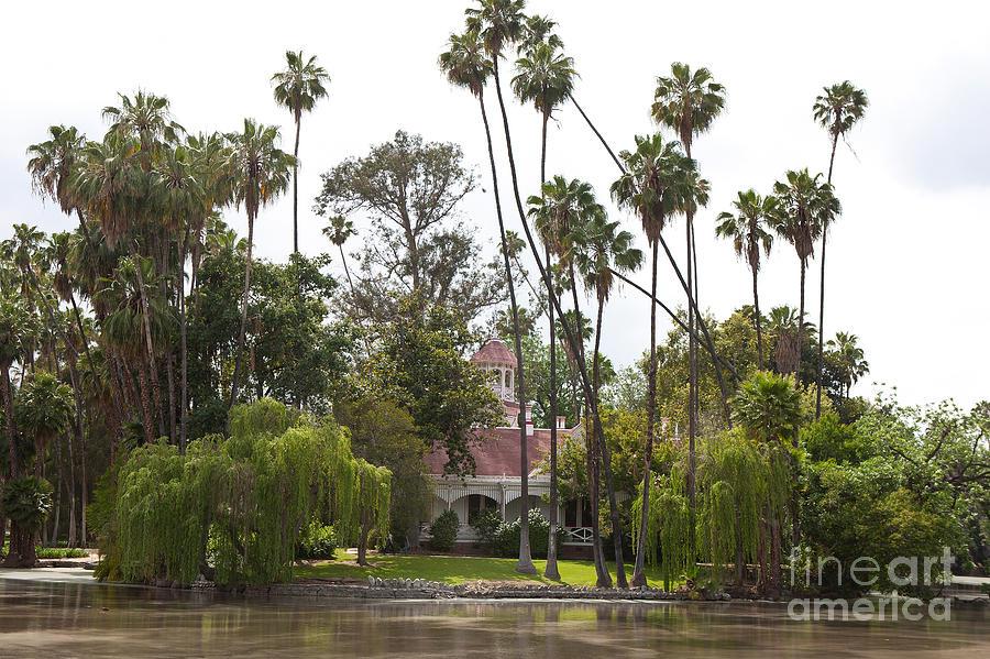 Queen Anne Cottage Los Angeles County Arboretum And Botanic Garden Photograph
